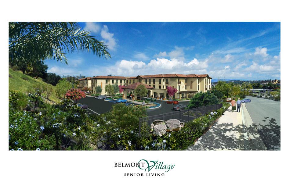 Belmont Village Calabasas is scheduled to open March 2018.