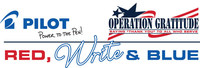 Partnering for a Second Year with Operation Gratitude, Pilot Pen Increases Pen Donation and Promotes Red, Write and Blue Thank You Letter Initiative, through Veteran's Day