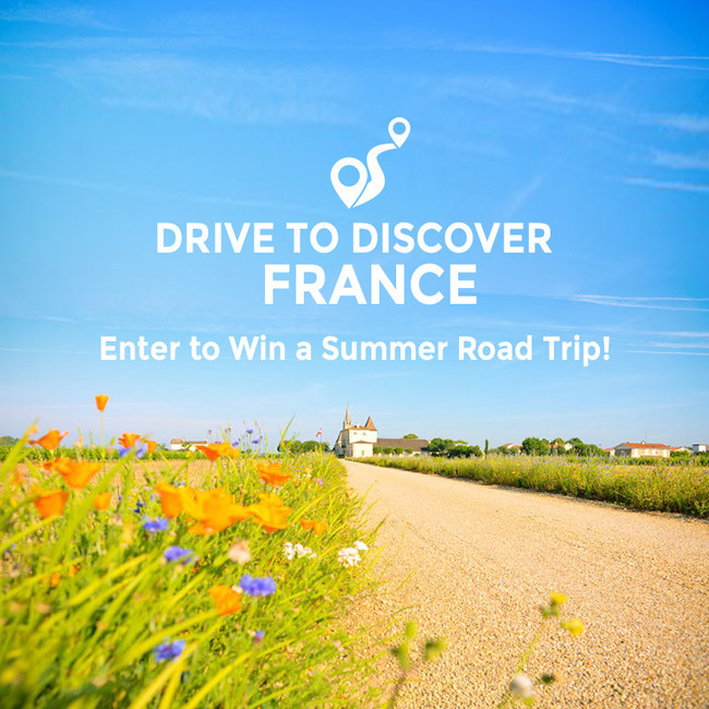Drive to Discover France: Enter to win a summer road trip