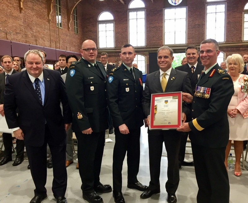 VIA Rail: named canadian Armed forces' most supportive