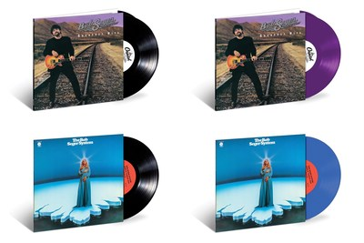 Bob Seger's Greatest Hits and Seger's 1969 debut studio album, Ramblin' Gamblin' Man, available on vinyl.  Greatest Hits will be offered as a 2LP, double album, in 150gram and 180gram black vinyl.  And for a limited time, Greatest Hits will be available in a special 150gram 2LP, double album, purple color vinyl exclusively on BobSeger.com.  Ramblin' Gamblin' Man will be issued in 150gram black vinyl on June 2 and for the first time in blue colored vinyl on June 9.