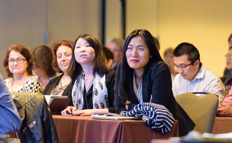The Kenneth Rainin Foundation complements its grants with an annual Innovations Symposium, which brings together scientific leaders to move Inflammatory Bowel Disease research forward. Photo credit: Stephanie Secrest.