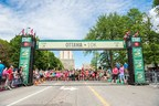 The 43rd Tamarack Ottawa Race Weekend and the Scotiabank charity challenge took place this weekend. (Photo credit: Brittany Gawley) (CNW Group/Scotiabank)