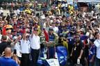 Borg-Warner Trophy™ Presented to 2017 Indianapolis 500 Winner Takuma Sato