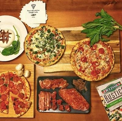 Delissio Rustico - La boutique d'alimentation Fou d'ici se transforme en pizzeria éphémère (Groupe CNW/Delissio)