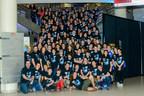 Les participants à la finale québécoise du Défi génie inventif ÉTS 2017. (Groupe CNW/Réseau Technoscience)
