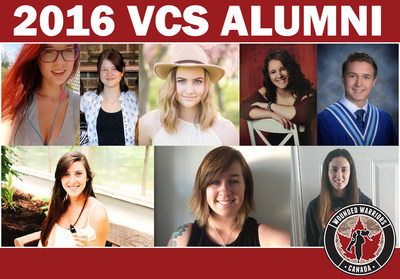 2016 VCS graduates (CNW Group/Wounded Warriors Canada)