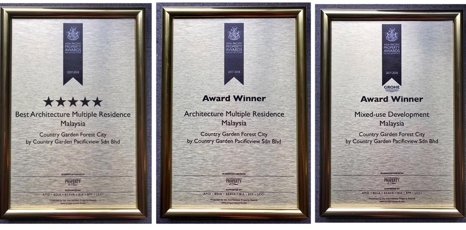 Pic1: Asia Pacific Property Award Best Architecture Multiple Residence Malaysia Pic2: Asia Pacific Property Award Architecture Multiple Residence Malaysia Pic3: Asia Pacific Property Award Mixed-Use Development Malaysia