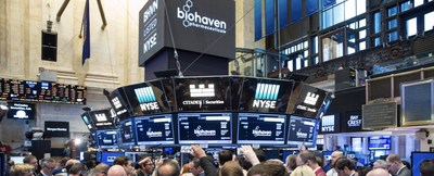 Biohaven at NYSE (Photo Credit: NYSE)