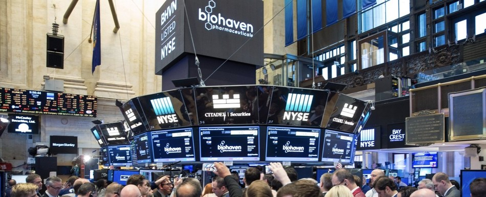 Biohaven at NYSE (Photo Credit: NYSE)