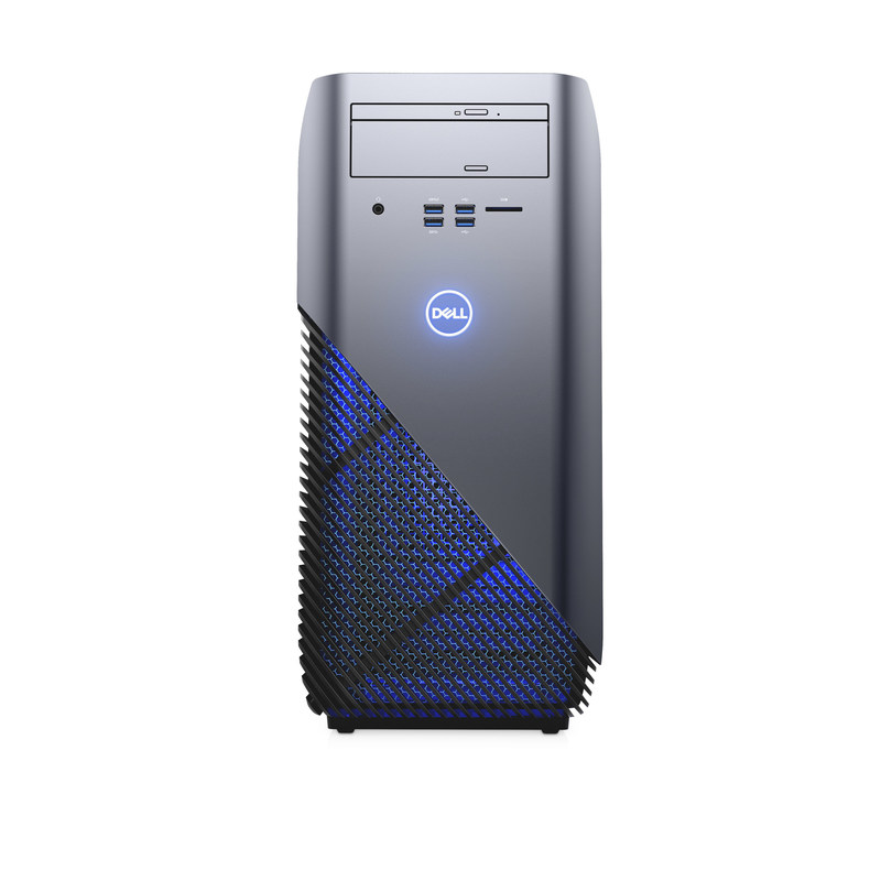 Dell's new Inspiron Gaming Desktop is designed for gaming enthusiasts with the latest AMD multicore Ryzen processors, Ready for VR graphics, dual graphics, up to 32GB DDR4 memory, advanced cooling options and Polar Blue LED lighting.