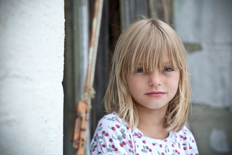 Brianna, 8, from Union County, South Carolina, where 1 in 3 children grows up in poverty. Photo by Gary Dowd/Save the Children.