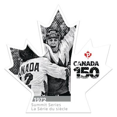 Canada 150 - La Série du siècle (Groupe CNW/Postes Canada)