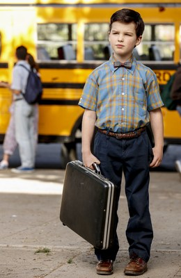 Iain Armitage as Sheldon Cooper in YOUNG SHELDON (CNW Group/CTV)