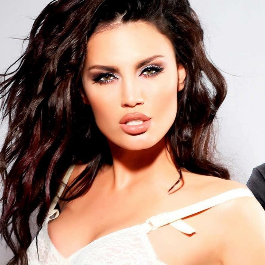 Genta Ismajli  Albanian Pop Star Performing Live