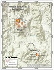 Figure 1: La Mina and Titiribi Project Location Map. (CNW Group/GoldMining Inc.)