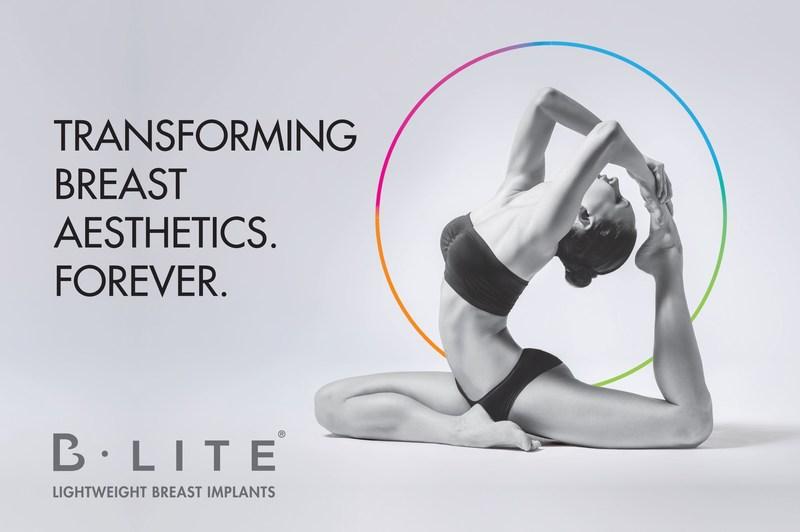 B-Lite, Transforming Breast Aesthetics. Forever. (PRNewsfoto/G&G Biotechnology BV)