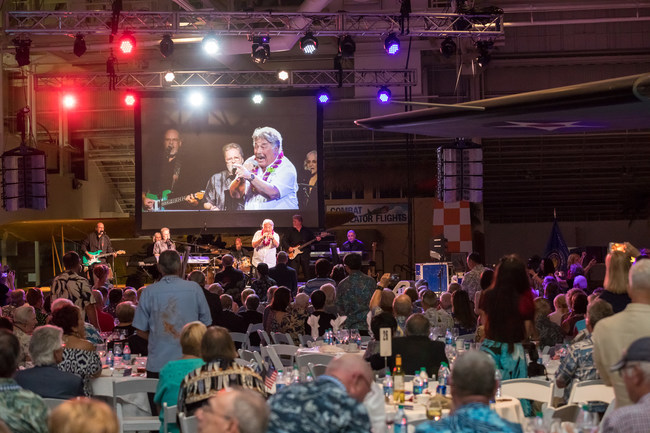 The Banquet culminated in a special performance by Tony Orlando.
