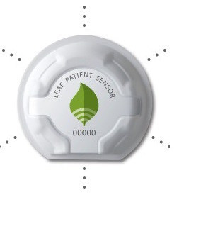 The Leaf sensor is a wireless, single-use, disposable device that is adhered to a patient's chest. Care providers can remotely monitor the turning and mobility status for all patients.