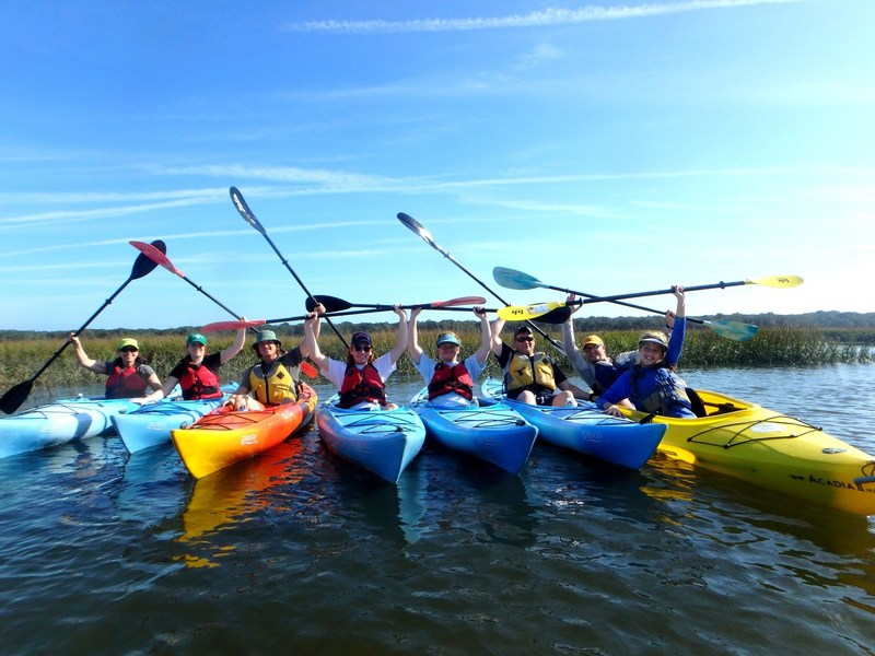 Wounded Warrior Project connected veterans and their families during a kayaking trip on Amelia Island. While paddling through one of North Florida's unspoiled sanctuaries, participants shared experiences in a picturesque and comforting environment.