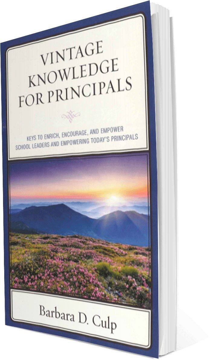 Vintage Knowledge For Principals, 1 book out of the 6 book series
