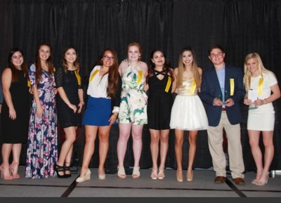 The San Antonio Students of the Year Class of 2017. Pictured on the far right is 2017 National Student of the Year, Ella Behnke.