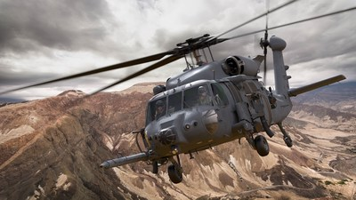 The Combat Rescue Helicopter, designed by Sikorsky, a Lockheed Martin company, will perform critical combat search and rescue and personnel recovery operations for all U.S. military services. Artist rendering courtesy of Sikorsky.