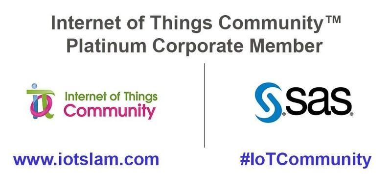 Internet of Things Community (IoT Community) Platinum Member - SAS (PRNewsfoto/IoT Community)