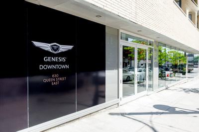Genesis Motors Boutique (CNW Group/Genesis Motors Canada)