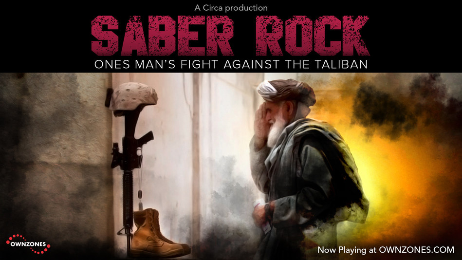 "Stream Circa's harrowing ""SABER ROCK"" documentary at OWNZONES.com and help bring a hero back to America. Every download donates $1 to family for courageous translator's return from Afghanistan."