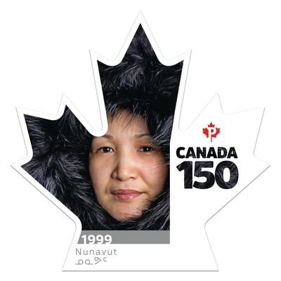 Canada 150 - Nunavut (Groupe CNW/Postes Canada)