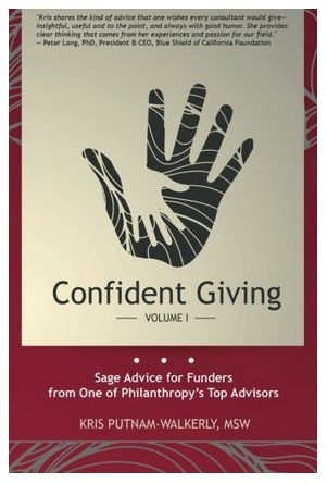 New Philanthropy Book, Confident Giving