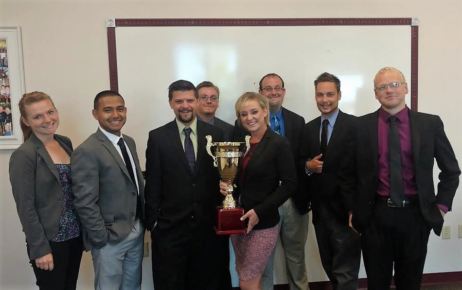Northwestern Marketing Concepts, led by President Holly Clark, wins the Campaign Cup for the first quarter of 2017.