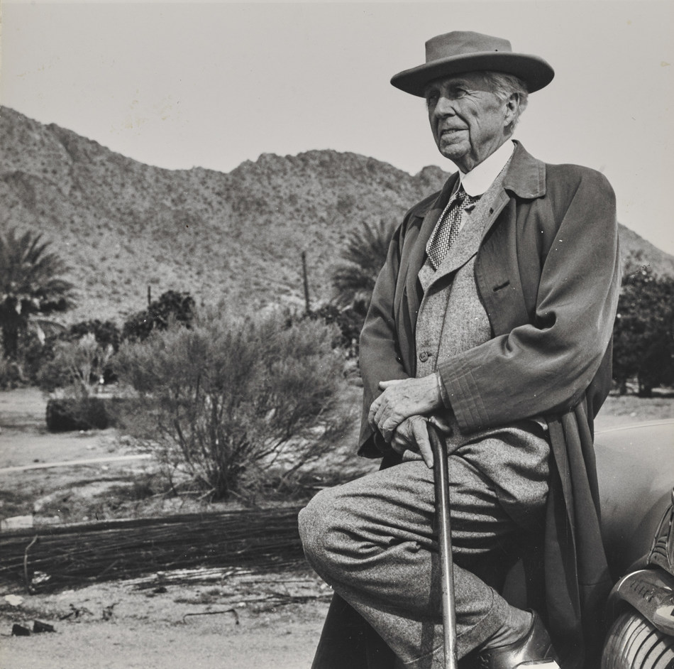 Unknown photographer. Frank Lloyd Wright. n.d. The Frank Lloyd Wright Foundation Archives (The Museum of Modern Art | Avery Architectural & Fine Arts Library, Columbia University, New York)