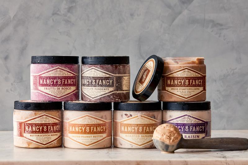 Nancy's Fancy artisan gelato and sorbetto. Photo credit Jason Varney.
