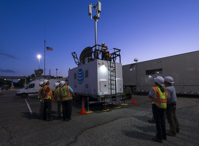 AT&T has successfully completed our first Network Disaster Recovery test for the year to make sure we're prepared to keep you connected in the event of a hurricane.