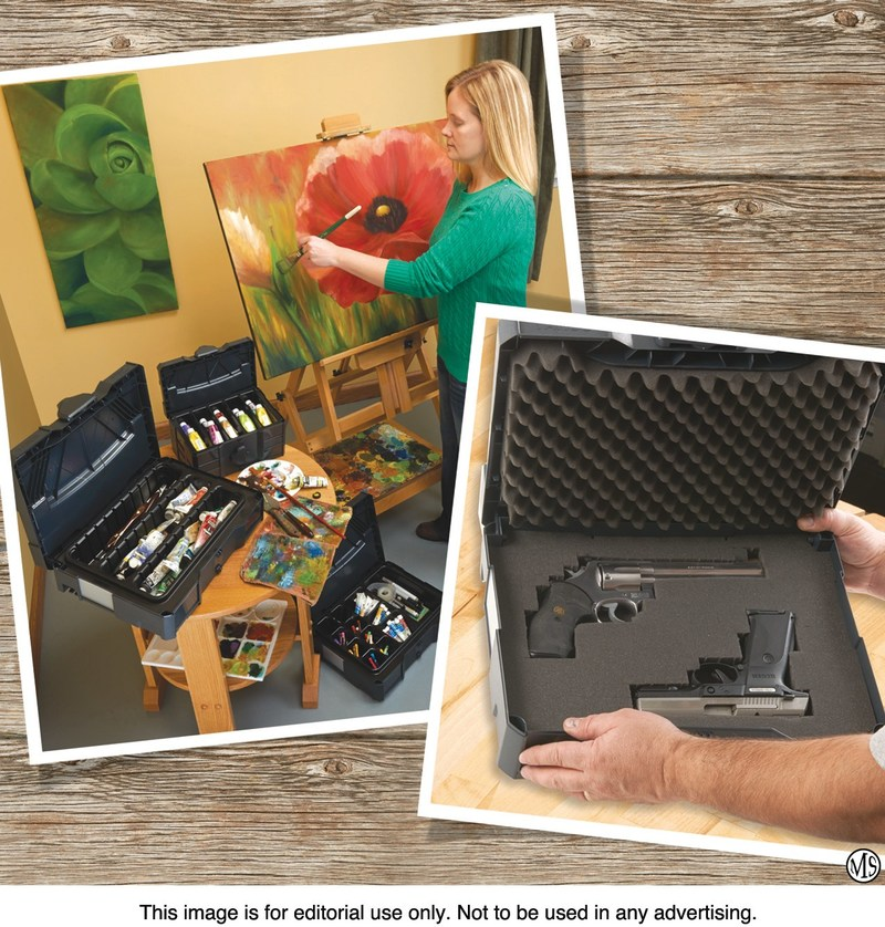 Tanos systainers offer handy storage and transport for art and craft supplies, tools, and much more. Customizable foam inserts keep items safely in place.