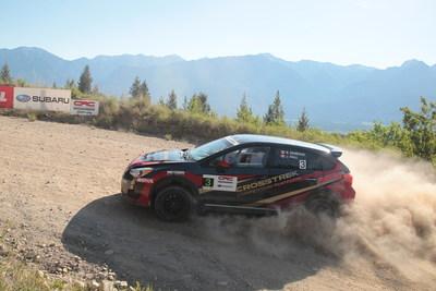 First Ever National Rally Victory for Subaru Crosstrek (CNW Group/Subaru Canada Inc.)