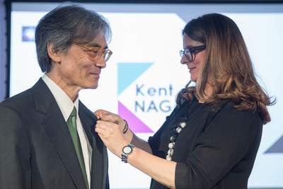 Kent Nagano, Companion of the Ordre des arts et des lettres du Québec. May 29, 2017.  Photo credit: ...