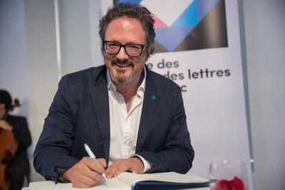 Rafael Lozano-Hemmer, Companion of the Ordre des arts et des lettres du Québec. May 29, 2017.  Photo credit: Alexandre Claude. (CNW Group/Conseil des arts et des lettres du Québec)
