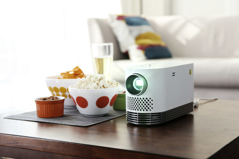 "LG Electronics USA today introduced the ""LG ProBeam,"" a new laser projector that offers the versatility to deliver a full cinematic viewing experience anytime, anywhere. The compact new home theater projector is available now in the United States at a suggested price of $1,499.99."
