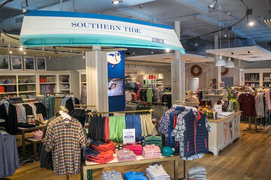 Southern Tide Signature Store in Greenville, S.C.
