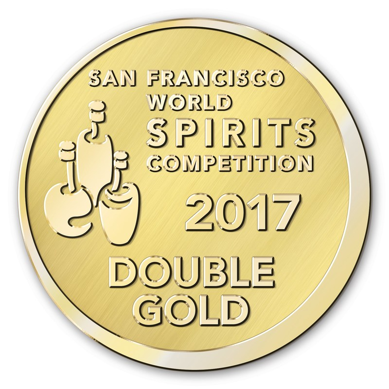 San Francisco World Spirits Competition 2017 Double Gold Award