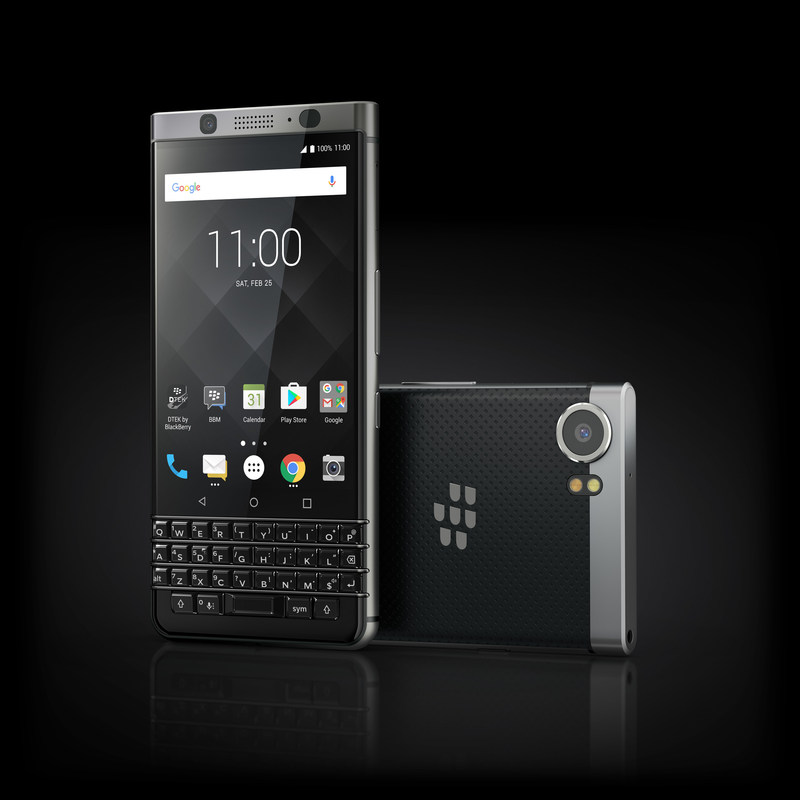 A reimagined Blackberry smartphone – the Blackberry® KEYone – will be available to customers across Canada beginning tomorrow (CNW Group/TCL Communication)