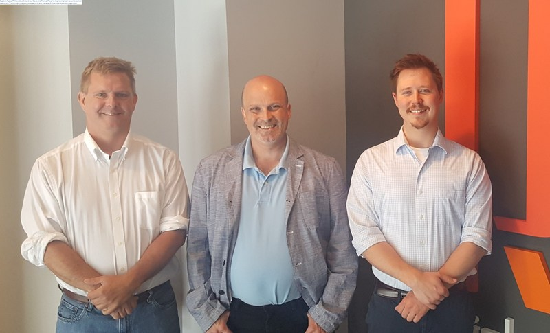 Ripley PR has added (l. to r.) Thomas Fraser and Joel Davis to its growing team as senior content specialists. The company also promoted senior brand manager JD Sizemore to account supervisor.