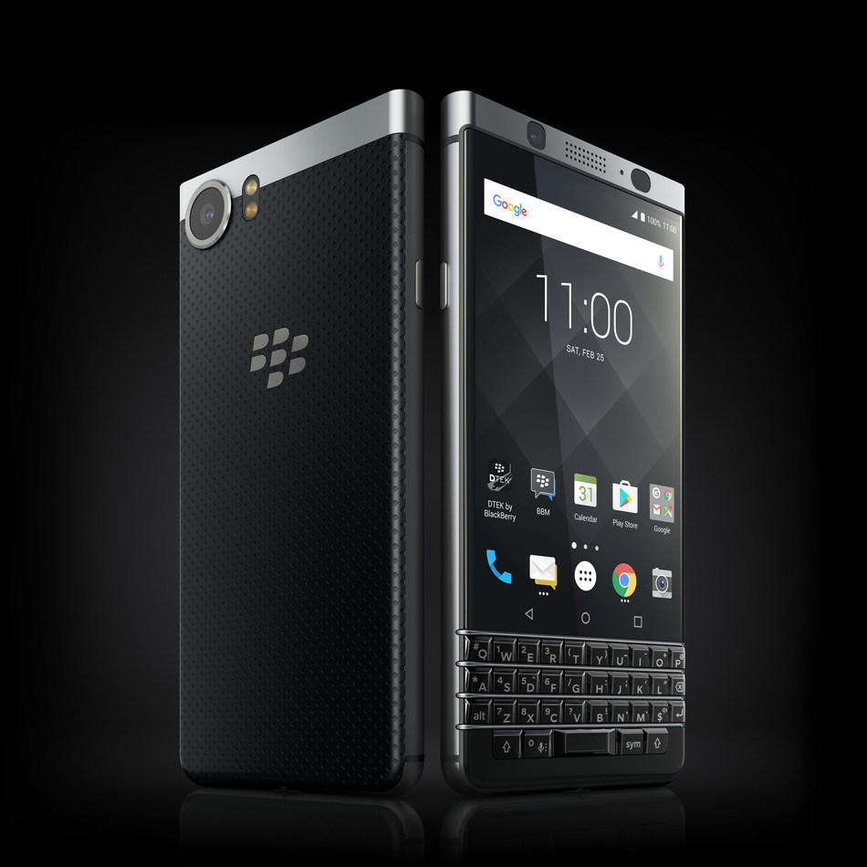 THE BLACKBERRY® KEYONE WILL BE AVAILABLE BEGINNING MAY 31 IN THE U.S. FROM AMAZON AND BEST BUY