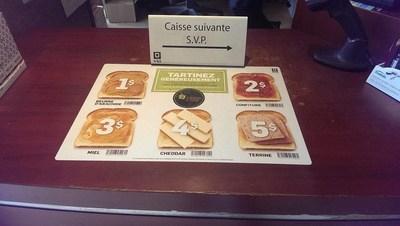 La campagne des Vins généreux de la SAQ au profit des Banques alimentaires du Québec (Groupe CNW/Moisson Montréal)