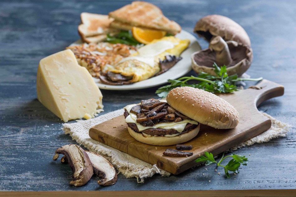 Portabella Mushroom Burger & Omelet Will Be Available At All Farmer Boys Locations For A Limited Time