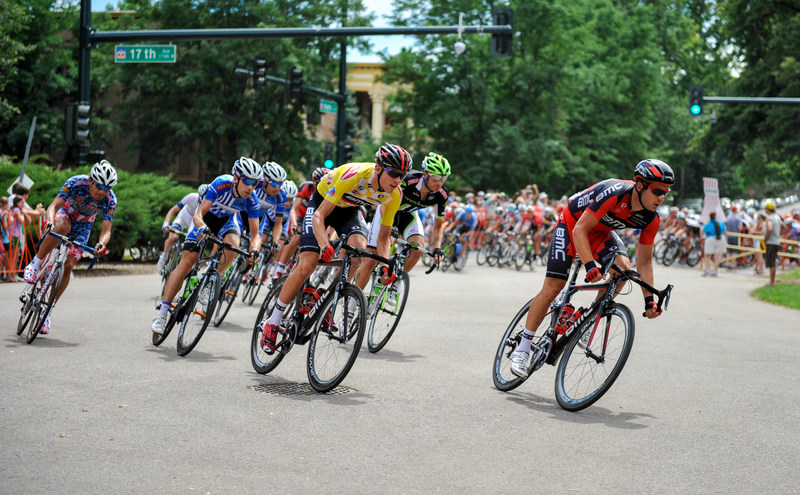 Professional cycling returns to Denver, Colorado this summer with the Colorado Classic and Velorama Festival. Credit: Elaine Gulezian