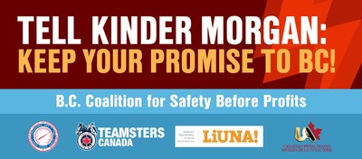 B.C. Coalition for Safety Before Profits (Groupe CNW/B.C. Coalition for Safety Before Profits)